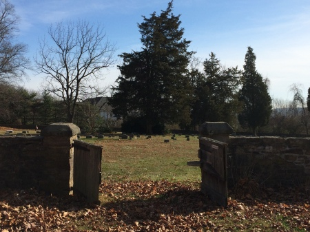 Burial Ground at Plumstead Friends Meeting